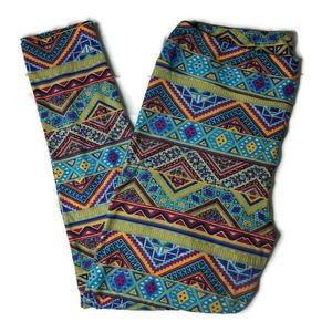 LuLaRoe Tall & Curvy Aztec Print Leggings ✨ 3/$15
